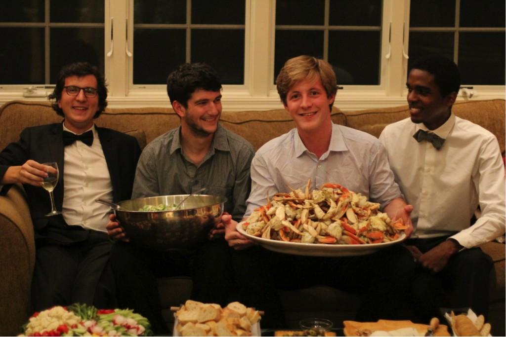De gauche à droite Paul, Alexis, Pierre et Livio, de la startup Alancienne.